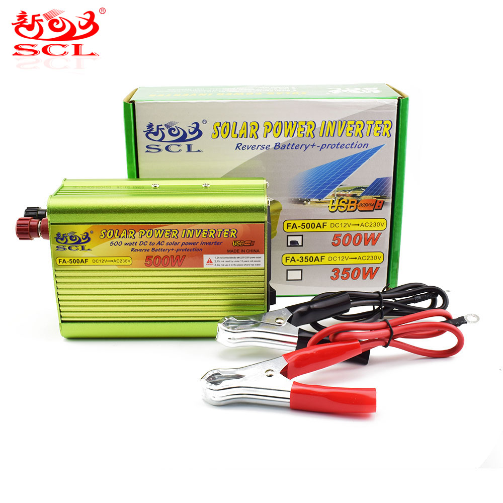 Factory Manufacture 12V to 220V 500W Power Inverter with Modified Sine Waveform